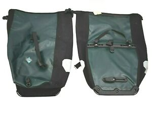 Ortlieb Pair of Back Roller Green Cycling Pannier Waterproof Made in Germany