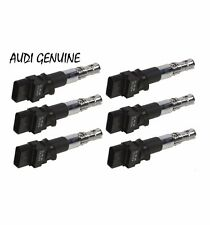 For Audi A3 Q 3.2 VW Passat 3.6 Set of 6 Ignition Coils GENUINE 022 905 715 B