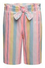 Girl's Pastel Striped Culottes Trousers ages from 18 Months up to 10 years