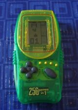 256 Games In 1 Green Pocket Arcade  Electronic Handheld Travel Game  Awesome
