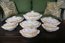 Bishop and Stonier Bisto England Ironstone Tureens Set of 7