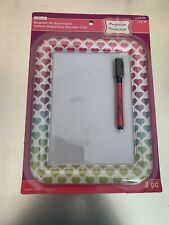 Creatology Magnetic Dry Eraser Board w/Marker Polka Dots  -Red & White