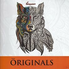 ADULT COLOURING BOOK: ORIGINALS (TRIBAL) - MINDFULESS - CALM