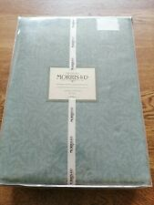 """William Morris & Co Willow Bough Lined Curtains 66x90"""" Duck Egg Blue"""