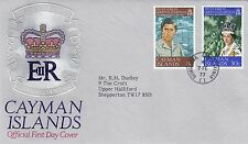 (01279) CLEARANCE Cayman Islands FDC Queen Silver Jubilee 7 Feb ruary1977
