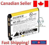 Fujifilm NP-45B NP-45A NP-45S Battery for Fuji FinePix XP70 XP60 XP10 Z30 Z33WP
