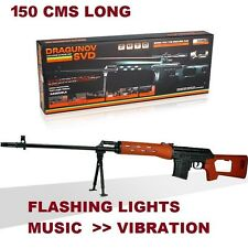 NEW KIDS TOY GUN SWAT AUTO ELECTRIC GUN WITH FLASHING LIGHTS AND SOUNDS '150cms'
