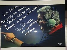 """BILL PARCELLS GIANTS """"STUPIDITY"""" SIGNED & INSCRIBED 16X20 COLOR PHOTO - BECKETT"""