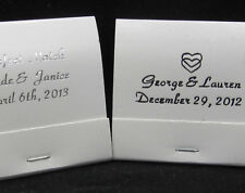 lot of 175 white matchbooks personalized matches wedding favors party supplies