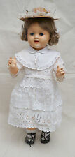 """Vintage French Raynal Number 2 Doll Googly Sleep Eyes 22"""" 1960"""