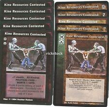 Kine Resources Contested x10 LoB KoT 3rd Ed CE VTES Jyhad Lot B
