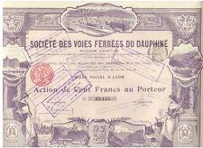 Voies Ferrees du Dauphine  1905   HOCHDEKO