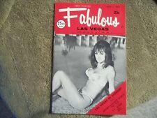 Fabulous Las Vegas Magazine Ali MacGraw Trini Lopez Jack E. Leonard 7/1/1972