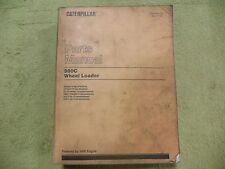 Caterpillar 980C 63X6575- CAT Wheel Loader Parts Manual Book