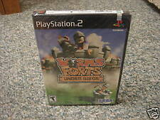Worms Forts Under Siege (PlayStation 2) new