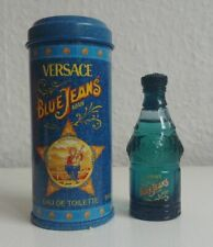 Blue Jeans Man von Gianni Versace mit Metalldose - Parfumminiatur 7,5 ml
