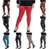 Damen Hose Leggings von Magna - Lederoptik -Freizeit  Party  Fitness - 40 bis 58