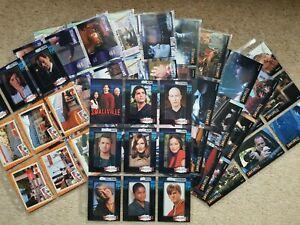 Inkworks Smallville Season 1 S1 Complete Trading Card Base Set  UltraPro Sleeves