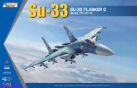 KINETIC K48062 1/48 Su-33 Flanker D Fligher Model 2019