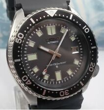 SEIKO Scuba date 150M MENS WATCH 7002-7000 6105/Apocalypse COSTUM Magnifique!!!
