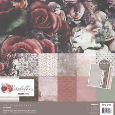 KAISERCRAFT Scrapbooking Paper Pack + Sticker Sheet Rosabella PK598