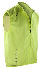 Polyester Gilet Activewear for Men with Hi Viz