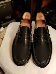 FLORSHEIM Black Sz 10.5 M Men Penny Loafers
