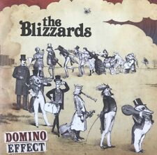THE BLIZZARDS - DOMINO EFFECT - RARE 11 TRACK PROMOTIONAL CD ALBUM