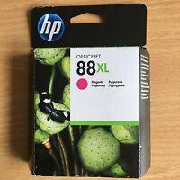 GENUINE AUTHENTIC HP HEWLETT PACKARD INK CARTRIDGE HP 88XL MAGENTA C9392AE HP