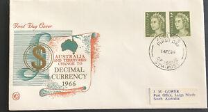 Australia * FDC WCS 1966 Australia & Territories Change To Decimal Currency