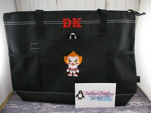Pennywise Clown Horror Personalized Tote Bag Any color Horror Tote Bag
