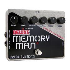 Electro-Harmonix EHX Deluxe Memory Man XO Analog Delay / Chorus / Vibrato Effec