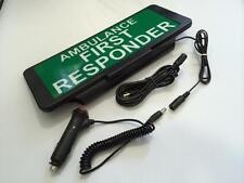 LED Univisor AMBULANCE FIRST RESPONDER visor flashing Remote Control