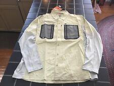 NWT Simms Fishing Taimen TriComp LS Shirt, Sage Color, Size L, Technical Shirt