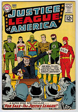 JUSTICE LEAGUE OF AMERICA #8 4.0 1961 OW/WHITE PAGES SILVER AGE