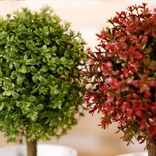 Decorativo Artificial Exterior Bola Planta Tree-Pot Hogar Oficina Grande Regalo