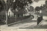 St. Paul MN Trolley Tunnel Selby Ave c1910 Postcard