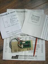 TS-64MCR CTCSS Encoder-Decoder COM-SPEC
