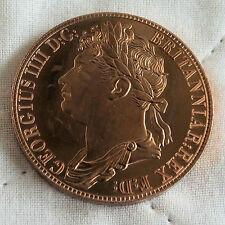 SCOTLAND GEORGE IIII 1830 COPPER PROOF PATTERN CROWN