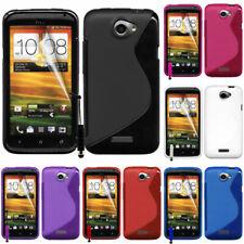 Funda protectora para HTC One X/x +/XL/XT TPU de silicona FLIP CASE COVER ETUI cáscara