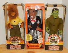 Vintage Halloween display figure Universal Monsters WOLFMAN FRANKENSTEIN VAMPIRE