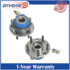 Pair: 2 New FRONT Wheel Hub & Bearing for Buick Chevy Olds Pontiac Cadi w/ ABS