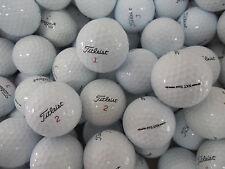 50 Titleist NXT TOUR/TOUR(S) AA-Standard Grade Golf Balls+10 plastic wedge tees