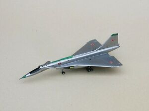 Su-100 T-4 Scale 1:200 Exclusive Handmade Aircraft Model on chassis