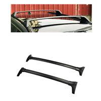 For 19-21 Toyota RAV4 Black Roof Rack Cross Bar Luggage Carrier Bar OE Style