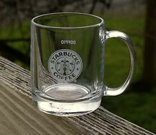 "Starbucks Coffee Company 2 3/4"" Glass Mug Doppio Solo Sample by Luminarc 335998"