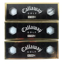 Callaway Golf HX Tour 56 3-Piece Solid Core Golf Balls New in box - 3 boxes