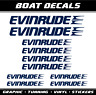 Evinrude aufkleber 10x sticker boat Wassersport Bootaufkleber decal Segelboot