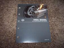 2007 Harley Davidson VRSC V-Rod Factory Parts Catalog Manual VRSCDX Night Rod
