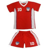 England Football Summer Shorts Boys New Girls Top Vest Kit Set Size Age 4-14 Yrs